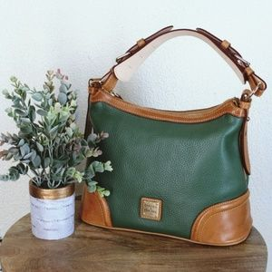 Dooney & Bourke | Vintage Green/Brown Shoulder Bag